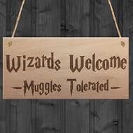 Harry Potter Home Decor Sign