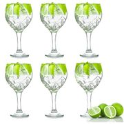 Pack of 6 Copa Balloon Glasses - Gin & Tonic Cocktail Glasses