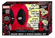 Deadpool Mask & Speech Bubble Set