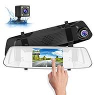 SUAOKI Dash Cam 1080p Full-HD