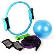 Deal Stack! Yoga Strap Exercise Resistance Bands Kits for £4.99 Only