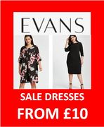 EVANS SALE - Plus Size Dresses from £10