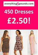AWESOME PRICE! 450 Dresses - ONLY £2.50 EACH