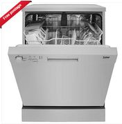 Beko DFN05310S A+ Rated 13 Place Settings 5 Programmes Dishwasher in Silver £175