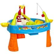 Fishing Water Game Play Table Toy Splash Waterpark with Accessories and Musi
