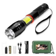 4£ off LED Zoomable Torch Light Flashlight