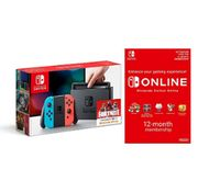 Nintendo Switch - Neon Red/Neon Blue + Switch Online 12 Months Only £291.97