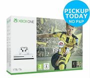 Microsoft Xbox One S 1TB Console with FIFA 17 Bundle - White Only £189.99