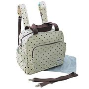 Gmmhl 2 Piece Baby Backpack Changing Bag for on the Go (Cream) - Add on Item