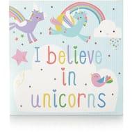 Light up Unicorn Canvas