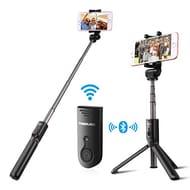 Selfie Stick, Poweradd Bluetooth Selfie Stick Tripod