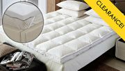 Luxury 2 Inch Extra-Filled Microfibre Mattress Topper - 4 Sizes