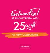 Be Runway Ready with 25% Off!