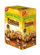 26 X Nature Valley Protein Peanut & Chocolate Gluten Free Cereal Bars 40g