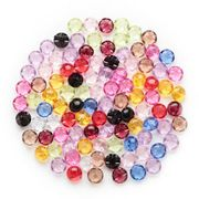 50pcs Shank Mixed Acrylic Buttons Home Sewing Scrapbooking