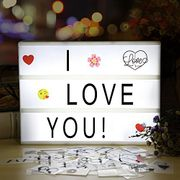 Infinitoo A4 Cinema Light Box Updated Version with 188 Letters £7.99