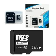 32G Class 10 High Speed Memory Card Micro SD TF Card with Adapter Mobile Phone