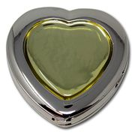 Minder Bag Hanger Foldable Heart Shaped Safety Security Hook Holder