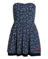 New Womens Superdry 50's Meadow Print Dress Wild Flower Navy