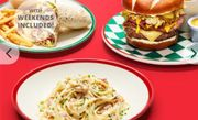 Frankie & Bennys 2-Course a La Carte Dining for 2