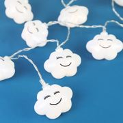 LED Cloud String Lights - Lovely In a nursery