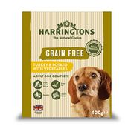 Harringtons Wet Turkey and Potato Dog Food, 8 X 400 G