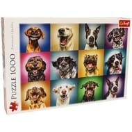 Funny Dog Portraits 1000 Piece Jigsaw Puzzle