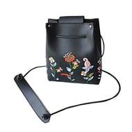 Women Vintage Flowers Designer Handbag Shoulder Tote Messenger Bag