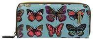 Roche Butterfly Zip around Wallet - SwankySwans