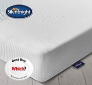 SAVE £105. Silentnight 3 Zone Memory Foam Rolled Mattress - KING SIZE