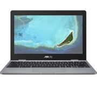 "ASUS 11.6"" Intel Celeron Chromebook - 32 GB eMMC, Silver (Online Only)"