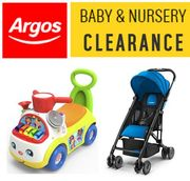 ARGOS - Baby & Toddler Nursery CLEARANCE