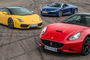 Triple Supercar Driving Blast with Free High Speed Passenger Ride -