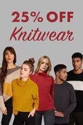 25% off Knitwear... Don't Miss Out!