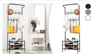 3-in-1 Coat Hanger, Shoe Rack and Umbrella Stand - 3 Colours