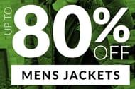 Mens Jackets - 80% off