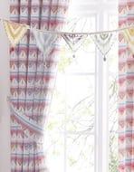 Elephant Curtains, pencil pleat