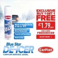 Carplan Blue Star (-15c) De-Icer - 300ml Buy 1 Get 1 Free with Code