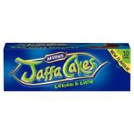 Mcvitie's Jaffa Cakes Orange/Lemon & Lime/strawberry 10 Pack