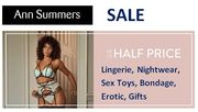 Ann Summers SALE - up to 50% OFF