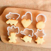 Bear Elephant Hippo Heart Shape Biscuit Cookie Cutter for Baking Pastry Tool RDR