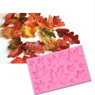 Silicone Maple Leaf Mold for Cake Decoration Tools Fondant 3D Baking Gum Mold 8C