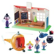 Argos Ben and Holly Wise Old Elf Playset