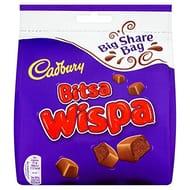 Cadbury Dairy Milk Bitsa Wispa Chocolate, 252 G, Pack of 10 (2 Left)