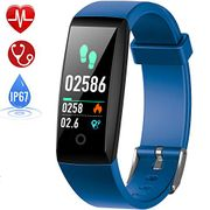 HETP Fitness Tracker, Heart Rate Fitness Wristband Smart Watch