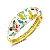 Pring of Versailles Women Bangle Bracelet with Austrian Preciosa Crystal