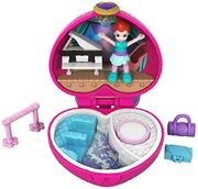 Polly Pocket Tiny Pocket Places Ballet Compact Play Set, Multi-Colour