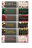 Vivani 35g Organic [Vegan] Chocolate 6 Bar Bumper Pack