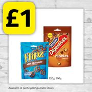 Flipz and Mcvities Nibble Packet Snacks for Only £1