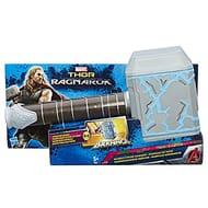 Marvel B9975EU4 Thor Ragnarok Rumble Strike Hammer Figure, Black